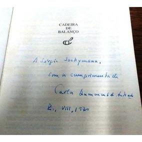 Cadeira De Balanço - Autografado Ao Sérgio Jockymann