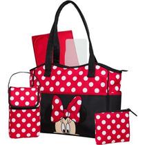 Disney Minnie 3 Piezas De La Bolsa De Pañales Del Equipo Con