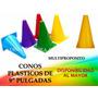 Conos Plasticos 9 Multiproposito Mayor Detal Deporte Calle
