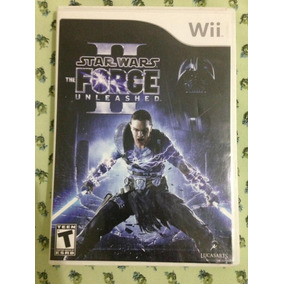Star Wars Force Unleashed 1 E 2 Wii Frete Gratis $199,98
