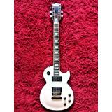 Guitarra Eléctrica Mccartney Estilo Les Paul Blanca