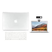 Kit Carcasa Case Español 3 En 1 Macbook Air Pro Retina Touch