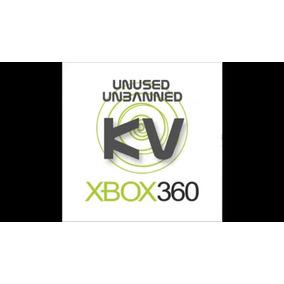 Pacote Com 13 Kv.bin, Keyvault Pura Virgem Xbox 360 Rgh