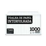 Papel Toalha Interfolhada Fardo C/1000 Fls Melhoramentos