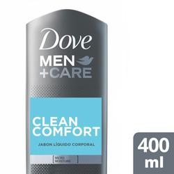 Jabón Líquido Corporal Dove Men Clean Comfort 400ml