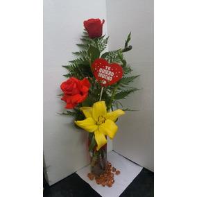 Ramo De Flores Rosas Naturales Arreglos Tocados Especiales