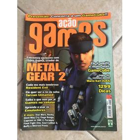 Revista Ação Games Metal Gear 2 Tarzan Resident Evil N°169