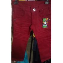 Calça Jeans Colorida Infantil Menino