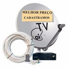 Kit Oi Tv Livre Hd 35/37 Cadastramos, Habilitamos/grátis