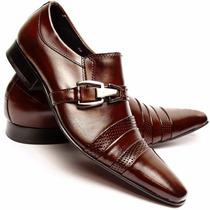Sapato Social Masculino Verniz Confort Frete Grátis Dhl Calç