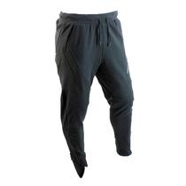 Pantalon Adidas Gimnasio Algodon Negro Hombre