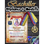 Combo Diploma Y Medalla Bachiller Graduación Promoción