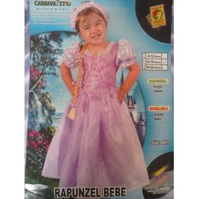 Disfraz De Princesa Rapunzel Marca Carnavalito Nuevo