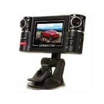Câmera Filmadora Dupla Portátil Carro Caminhão Visão Noturna