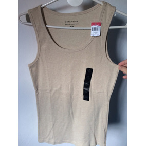 Musculosa Beige - Attention - Talle M