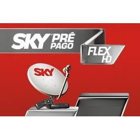 Sky Pré-pago Flex Hd + 01 Recarga Smart Grátis