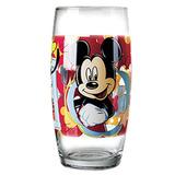 Copo De Vidro Da Disney Mickey Mouse E Amigos 430ml