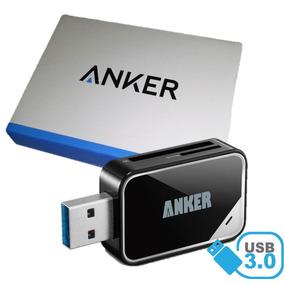 Lector Memoria Usb 3.0 Sd Y Micro Sd Anker Alta Velocidad