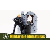 Mini Playset Swat 1/18 - World Peacekeepers Power Team Elite