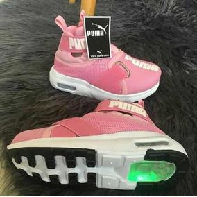 Zapatos Para Niñas Deportivos Con Luces Moda 2018