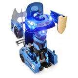 Juguetes Transformer Robot Auto Control Recargab Mgt314g B/e