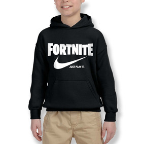 Polerón Hoodie Fortnite Just Play It Estilo Nike Step Kolors