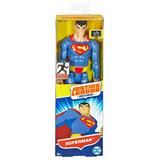Muñeco Superman Dc Liga De La Justicia Original Mattel 30 Cm
