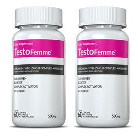 Testofemme - 2x 60 Capsulas - Inove Nutrition