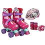 Kit De Patines Hello Kitty, Incluye Equipo De Protección