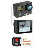 Camara De Acción 4k Con Control Remoto Wifi. 4k U