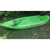 Kayak K1 + Remo+ Chaleco 100 Kg