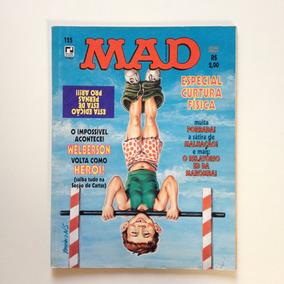 Revista Mad Especial Curtura Física Editora Record