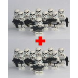 Minifigura 20 X Stormtroopers Lego Compatible Star Wars