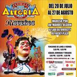 Entradas Circo De La Alegria Pitillo Zona Vip Jockey Plaza