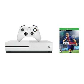 Consola Xbox One S Microsoft 500gb + Pes 2018