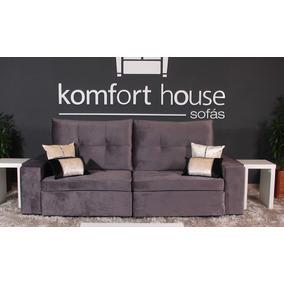 Sofá Retrátil E Articulado Manhattan Komfort House 2 Lugares