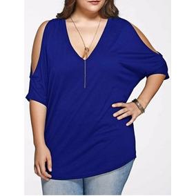 Blusas Camisas De Dama Ropa Casual Tallas Plus Hasta La 4xl