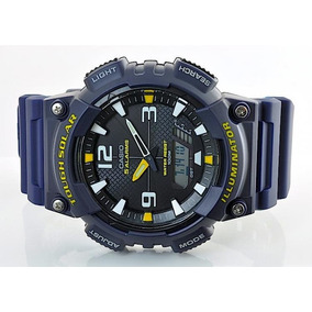 193021f8cbe Relogio Casio Tough Solar Azul - Relógios no Mercado Livre Brasil