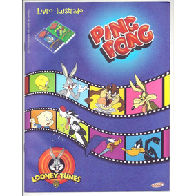 Álbum Looney Tunes - Ping Pong - Ano 2001 - Vazio, Novo
