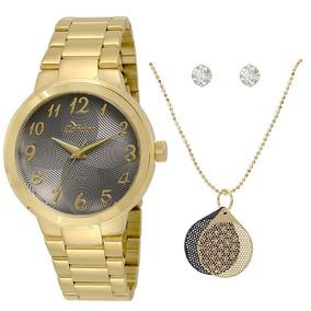 Relógio Condor Feminino Co2036kov/k4c + Kit - Nota Fiscal