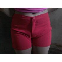 Shorts Cortos Casuales Bengalina Stretch Colores Y Tallas