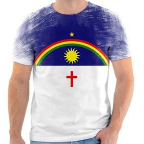 Camiseta, Camisa Bandeira Do Estado De Pernambuco 2