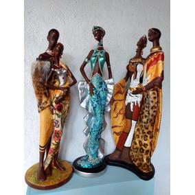 Figuras De Ceramica Pintadas A Mano