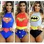 Body Super Herois Super Girl Festa Fantasia Carnaval 2017