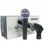 Micrófono Profesional Shure Sm58 Nuevo Sellado