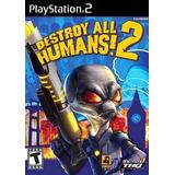 Jogo Ps2 - Destroy All Humans 2 - Frete Grátis
