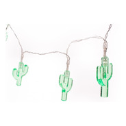 Serie De Luces Led Decorativa Vintage En Forma De Cactus