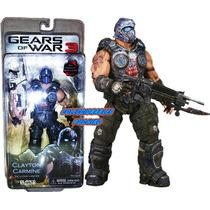Neca Gears Of War 3 Clayton Carmine Gow Lancer 18cm