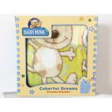 Cobertor Dreams Baby Mink Cobija Para Bebé 100 X 80 Cm