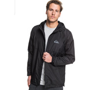 Campera Everyday Hombre Quiksilver Rompeviento Impermeable